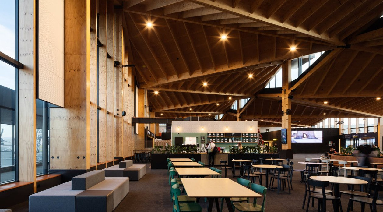 Cadrea stool, cadrea bistrot chair project for Nelson Airport, New Zealand, Airport Bistrot Contract Project