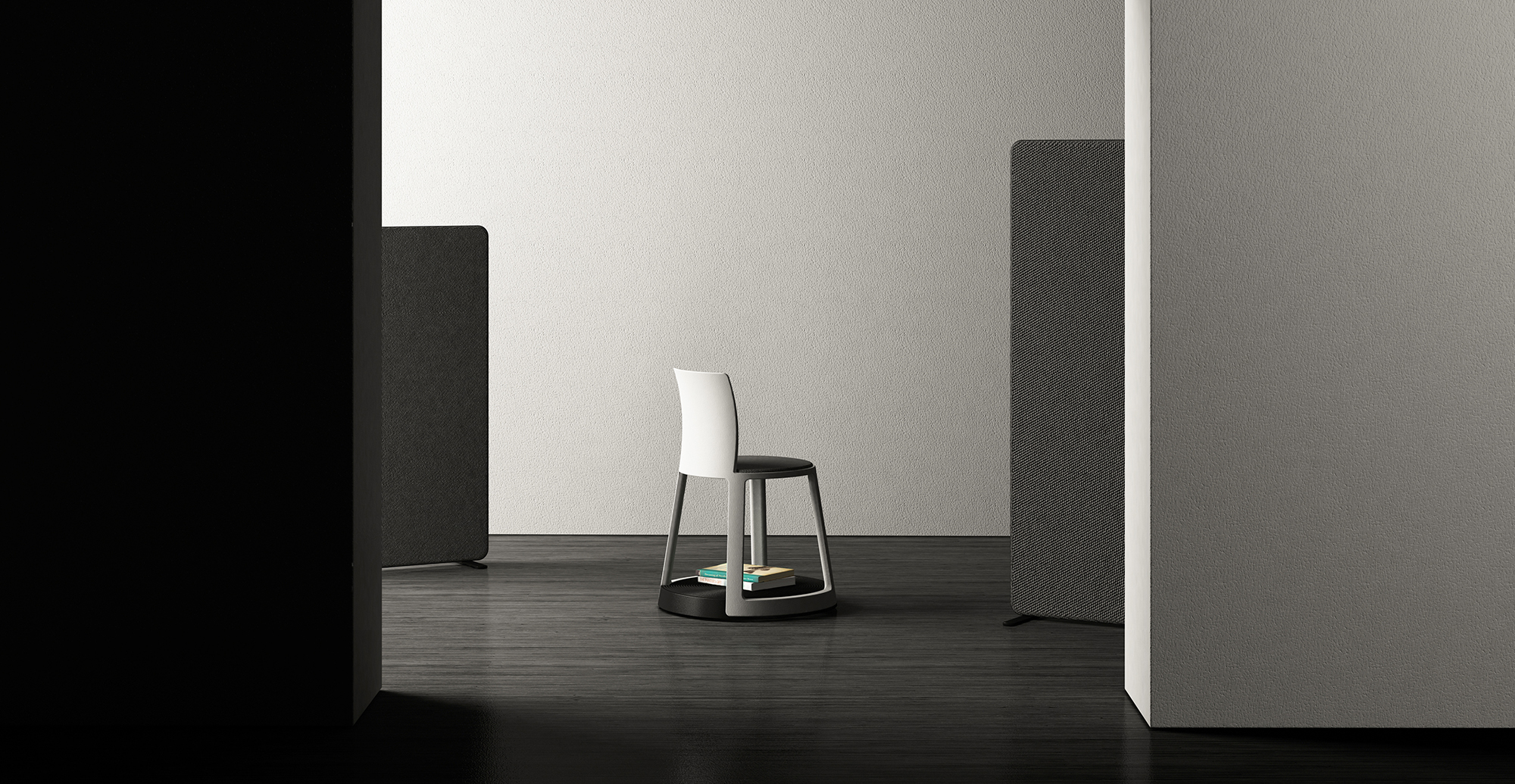 Revo - An original smart chair for office, smart office, laboratory.