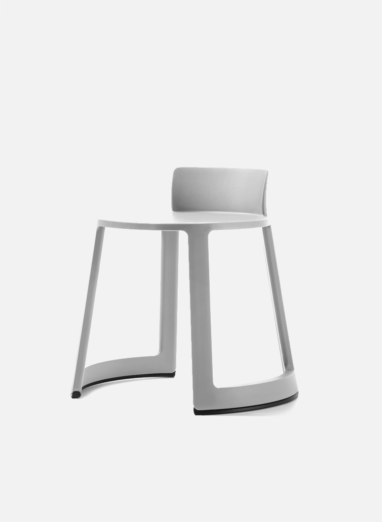 Revo Eco Light Grey - An original smart chair for office, smart office, laboratory.