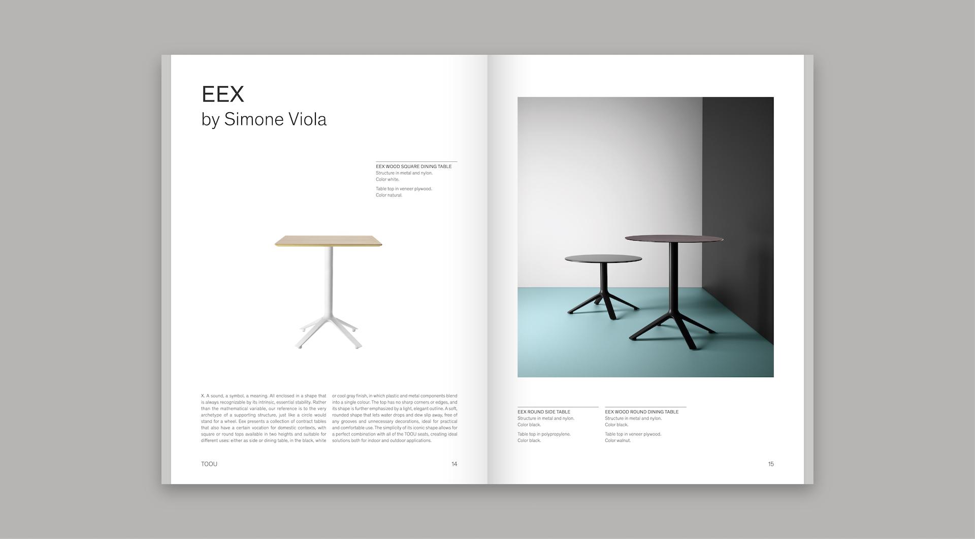 TOOU design furniture Catalog - Table Eex
